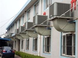 广亚集团安装冷风机