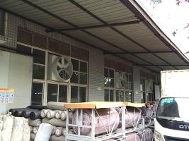 工厂安装玻璃钢负压风