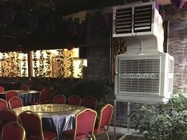 餐馆安装移动式冷风机